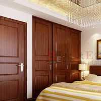 客厅新中式卧室门装修效果图