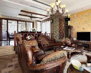 浪漫精致欧式三室两厅装潢效果图