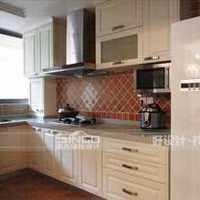 白色厨房别墅橱柜装修效果图