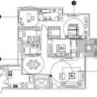 简约排屋样板房装修效果图