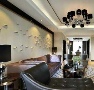 欧式挑空别墅客厅怎样装修