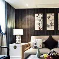 海河大观两室两厅一卫户型装修效果图