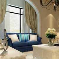 6万装修90平三层客厅墙壁贴磁砖