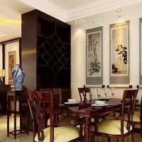 别墅小餐厅侧面墙上照片墙装修效果图