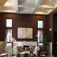 古典客厅瓷砖背景墙装修效果图
