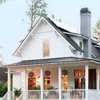 美式乡村风格客厅家具效果图