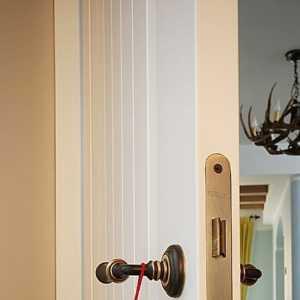 简约风格130平米132平旧房改造卧室飘窗效果图