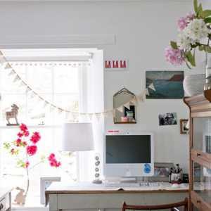 65㎡素雅清淡的小户型客厅装修效果图