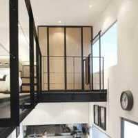 现代简约橱柜厨房三居室装修效果图