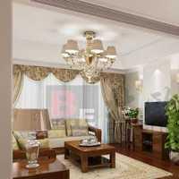 现代客厅棕色布艺沙发装修效果图
