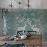 餐桌新古典复式餐厅装修效果图