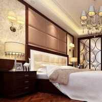 豪华印花卧室家具摆放装修效果图