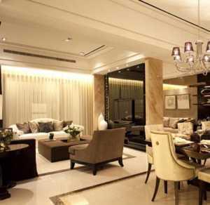 后现代风格二居室装修