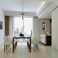 臺燈天花板電視柜現代家具裝修效果圖