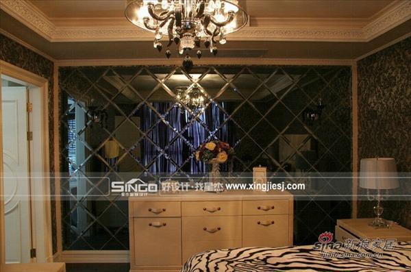 舒适新中式卧室豪华型大气古典30万-50万四居以上别墅中性色