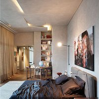 个性工业风卧室装修效果图