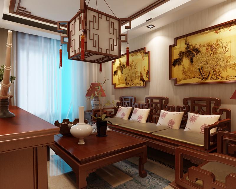 楼房卧室绿化