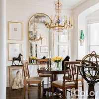 新古典餐厅厨房装修效果图