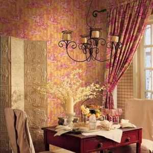 客厅墙壁贴画椰树