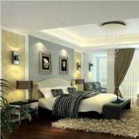 欧式新古典卧室壁纸墙面装修效果图