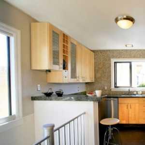 陽臺改裝廚房裝修怎么設計