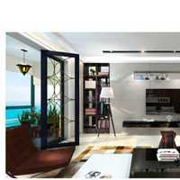 美式家居二居室家庭装修效果图