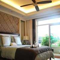 东西方结合四居室卧室装修效果图