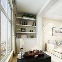 中式古典四居室书房组合柜效果图