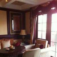 一居室客厅混搭沙发装修效果图