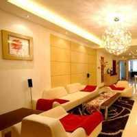 沙发客厅背景墙客厅二居装修效果图