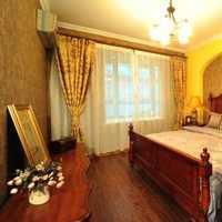 卧室背景墙实木简约中式装修效果图