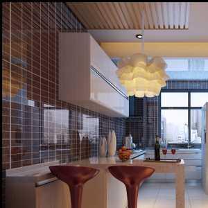 时尚温馨 浪漫厨房吧台设计