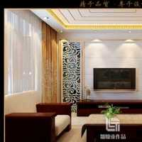 美式新古典客厅电视背景墙装修效果图