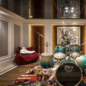 戴昆美式客厅