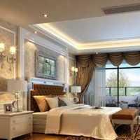 沙发储物柜美式卧室背景墙装修效果图