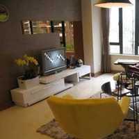 75平米两室一厅简约客厅装修效果图