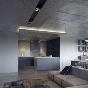 4个沉稳大气的黑色客厅设计