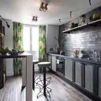 家居厨房酒柜装修效果图