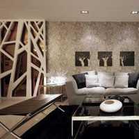 现代二居客厅家具摆放装修效果图