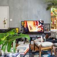 茶几白色简洁客厅装修效果图