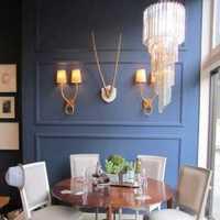 餐厅高背景墙装修效果图