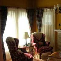 田园客厅沙发单人沙发客厅装修效果图