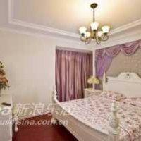 欧式三居卧室照片墙装修效果图