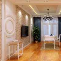 现代别墅艺术壁画起居室装修效果图