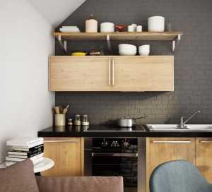 34個時尚黑色廚房設計