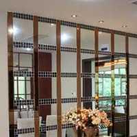 現代三室兩廳家用餐廳裝修效果圖