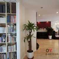 欧式现代青年书房三居装修效果图