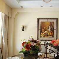 美式两室两厅复古装修效果图