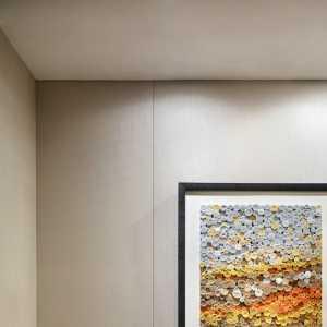 现代风沙发背墙效果图