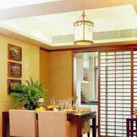 窗帘别墅餐厅背景墙吊顶装修效果图